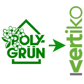 Übergabe Polygrün Kletterhilfen an Vertiko - Firmenübergabe Grüne Branche