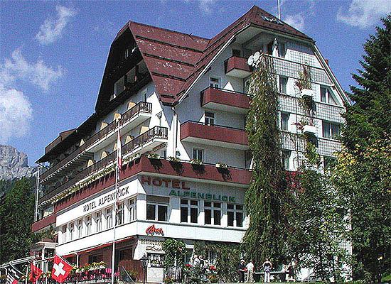 Hotel Alpenblick aktuell Gemeinde Braunwald Schweiz