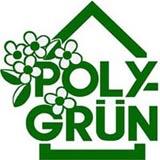 Logo Polygrün, Hausbegrünung, Gebäudebegrünung, Wandbegrünung mit Kletterpflanzen an Rankhilfen, Kletterhilfen